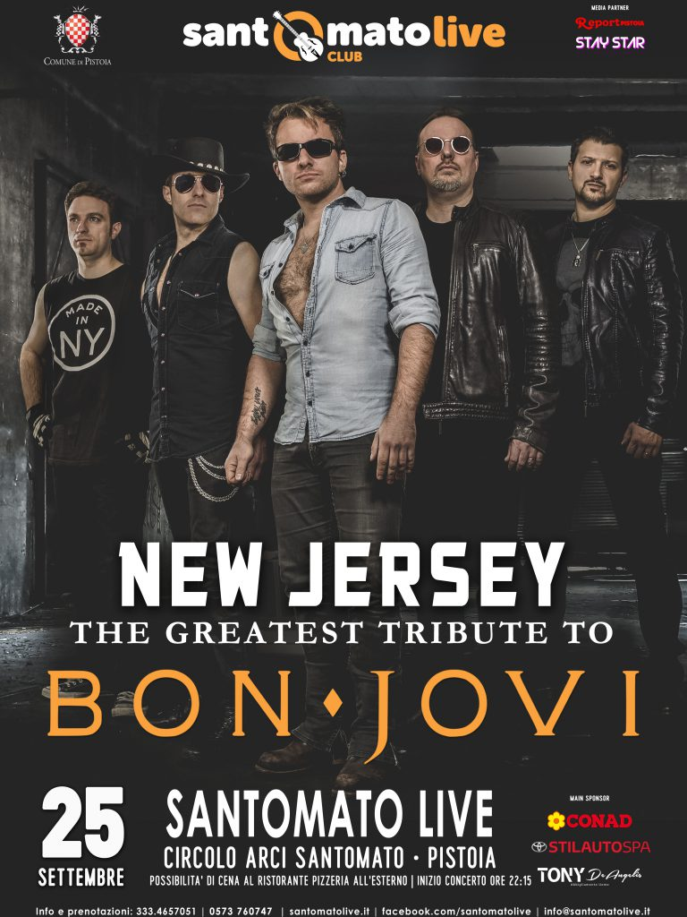New Jersey | The greatest tribute to Bon Jovi