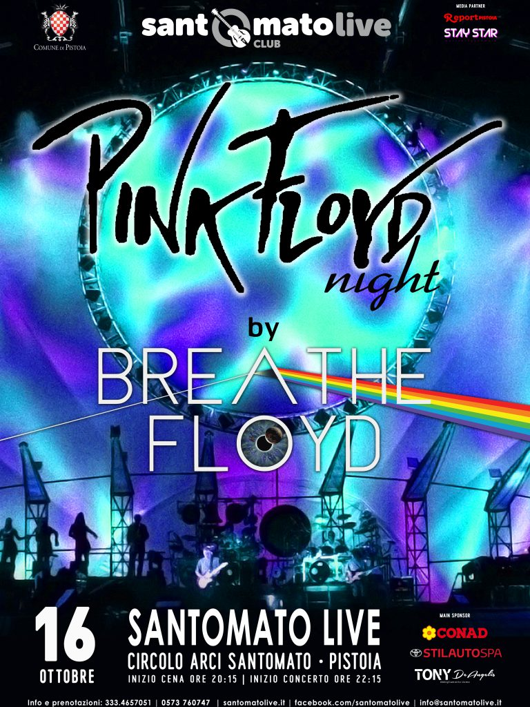 BREATHE FLOYD | Pink Floyd night