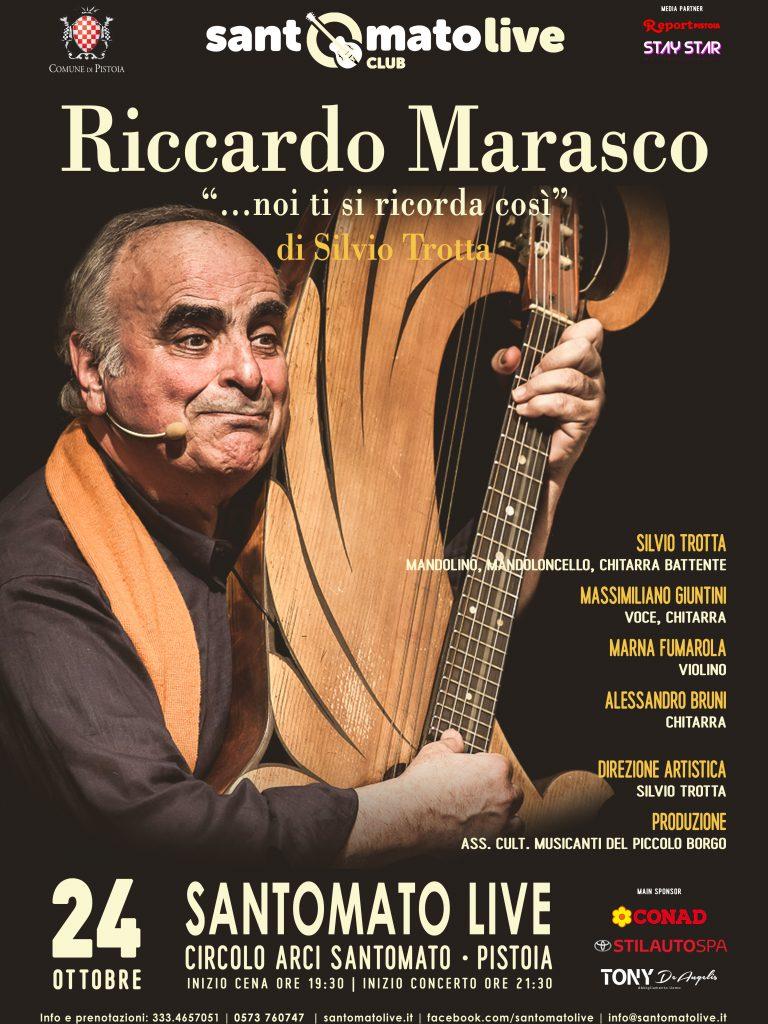 "Riccardo Marasco | ""…noi ti si ricorda così"""