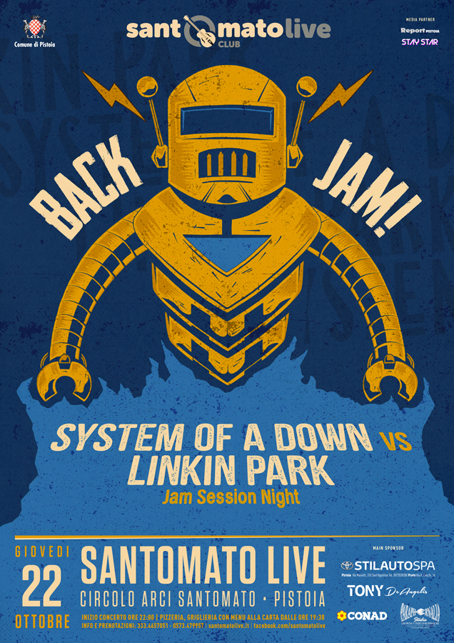 Back Jam | System of a Down vs Linkin Park