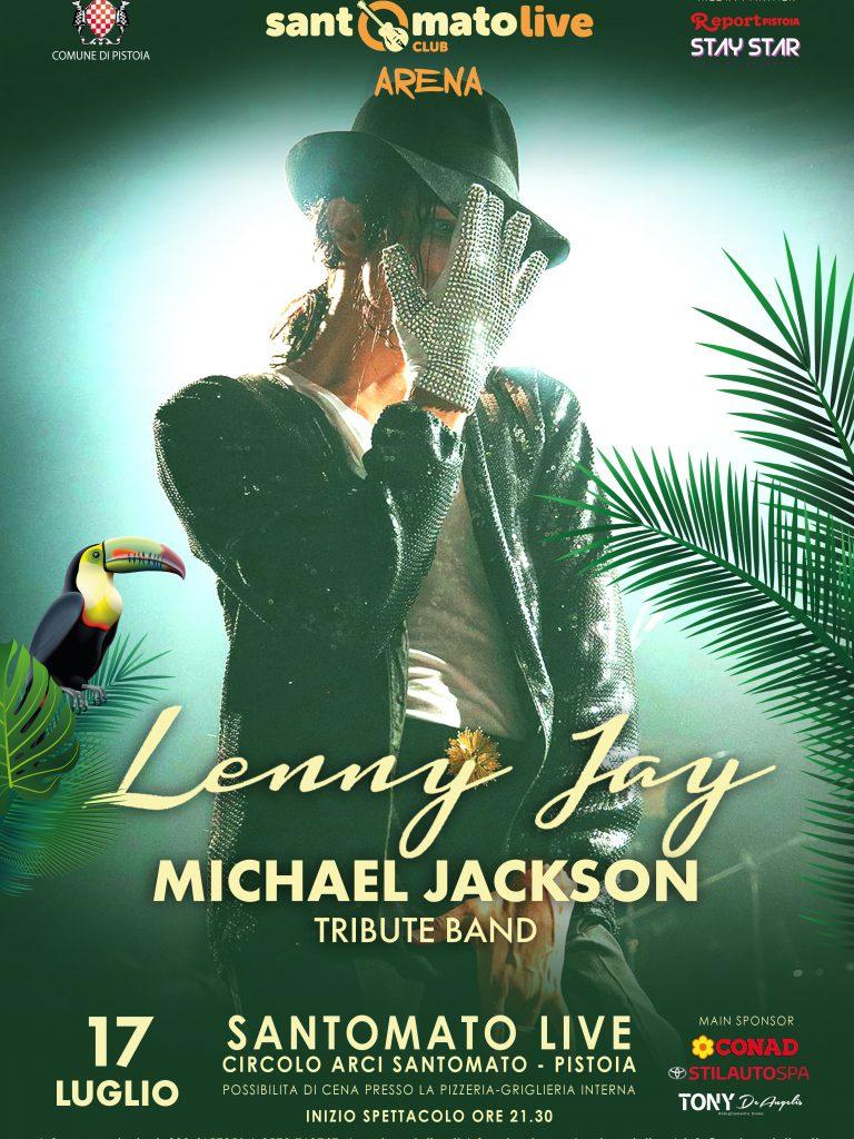 LENNY JAY – Michael Jackson tribute band