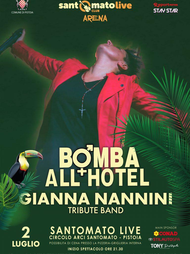 BOMBA ALL'HOTEL – Gianna Nannini tribute band