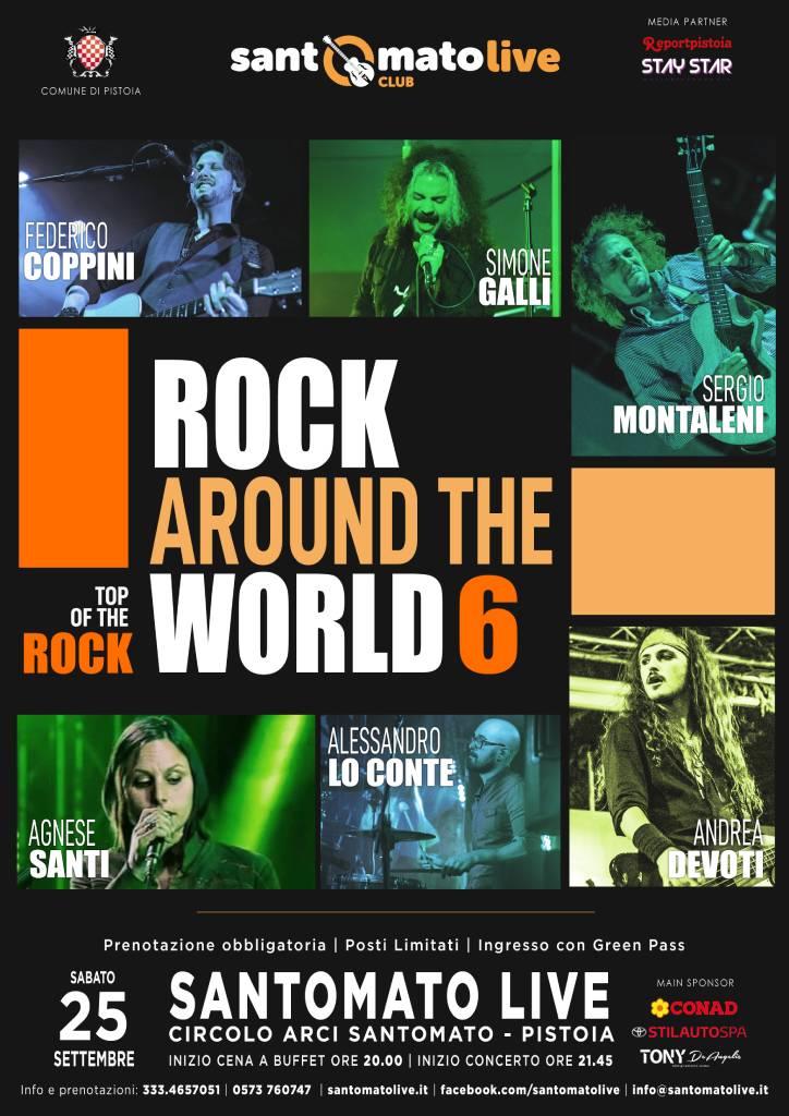 Rock Around THe World 6
