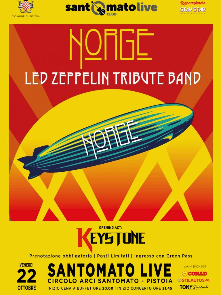 NORGE | Led Zeppelin Tribute Band