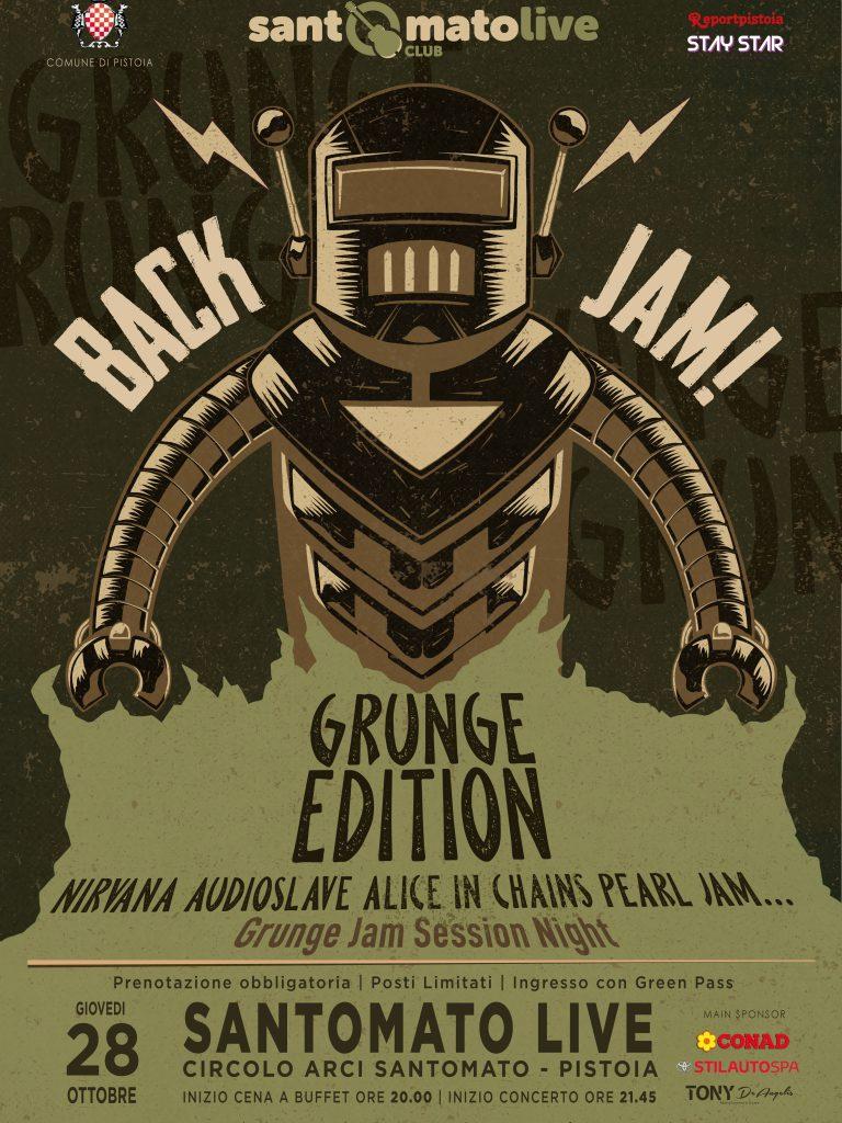 BACK JAM | Grunge Edition