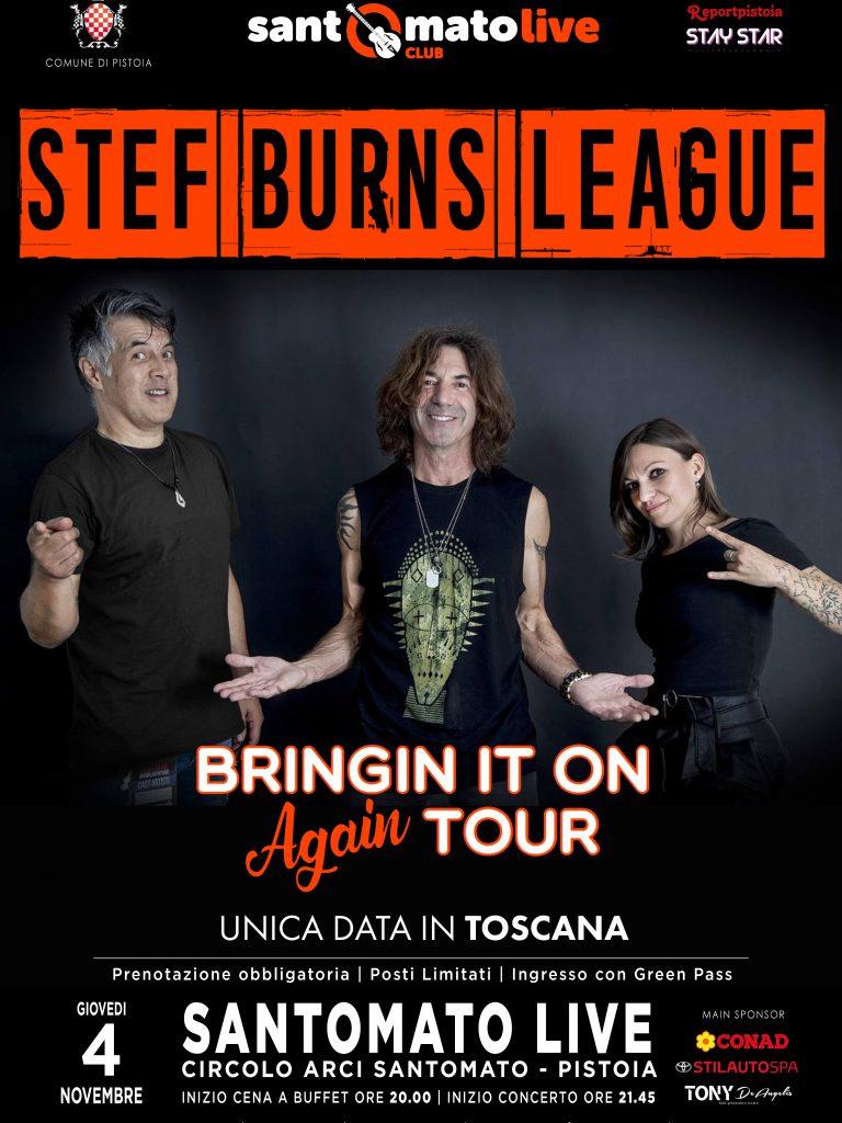 STEF BURNS LEAGUE | Bringing it on Again Tour