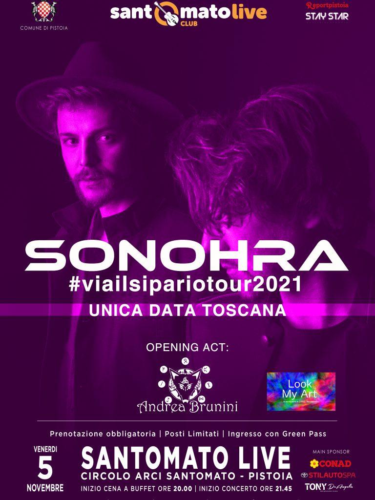 SONOHRA | Opening act: Andrea Brunini