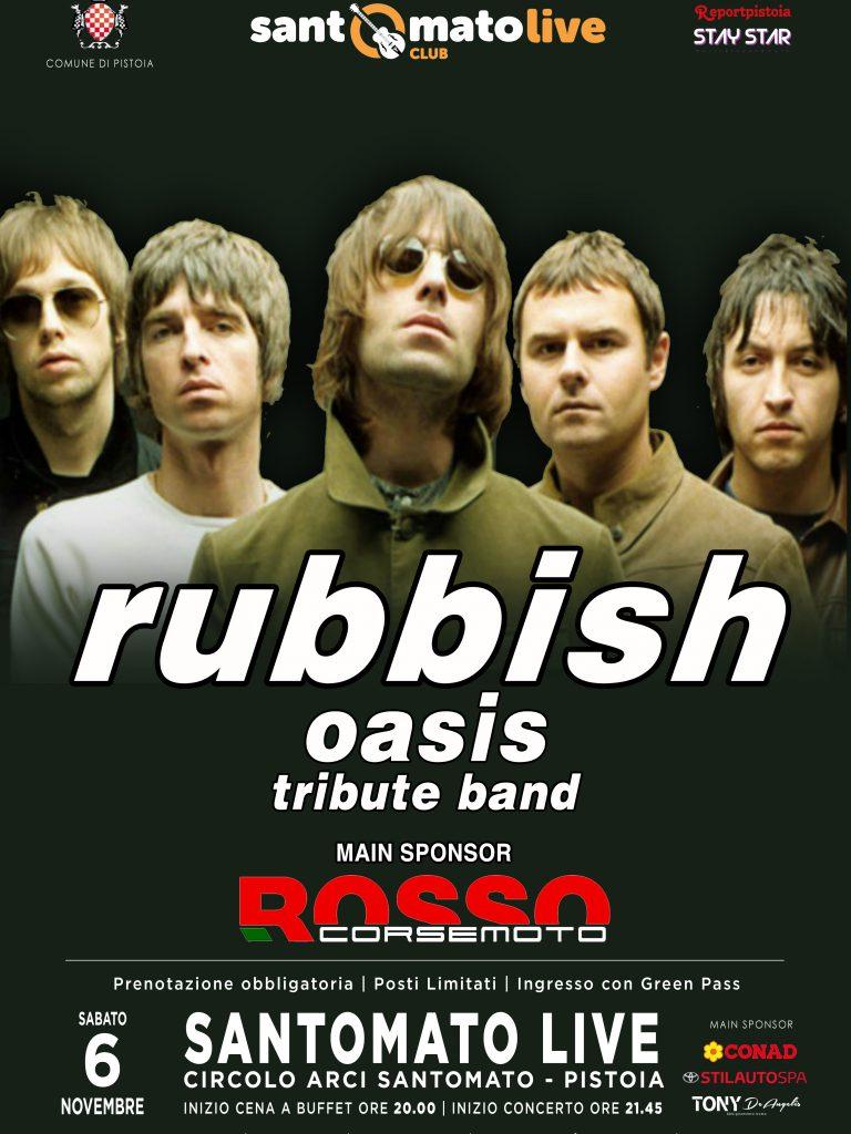 RUBBISH | Oasis Tribute Band